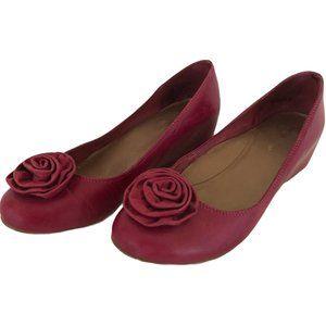 Hush Puppies Pink Wedge Shoe